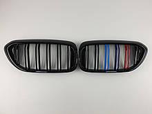 Ніздрі на BMW 5 Series G30 / G31 / F90 2017-2020 рік M-color ( Подвійні M-Look )