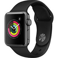 Умные часы Apple Watch 3 42mm (MTF32LL/A) Space Gray Aluminum with Black Sport Band