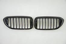 Ніздрі на BMW 5 Series G30 / G31 / F90 2017-2020 рік Чорні Глянцеві