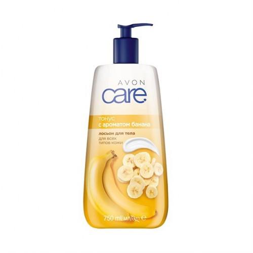Лосьон для тела с ароматом банана Тонус Avon Care, с носиком дозатором 750 мл