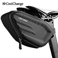 Сумка подседельная CoolChange 17см водонепроницаемая велосумка 2003-05597