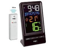 "Термометр цифровой TFA ""Spira"", с внешним радиодатчиком, 83x55x152 мм, Black"