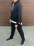 Мужской спортивный костюм двойка кофта батник и штаны двухнить размер: M, L, XL, XXL, фото 2