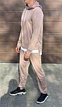 Мужской спортивный костюм двойка кофта батник и штаны двухнить размер: M, L, XL, XXL, фото 3