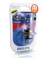 Лампа галогенна PHILIPS MasterDuty BlueVision H4 75/70W 24V