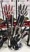 Набір кухонних ножейс підставкою Zepline ZP-027 (з 8 предметів.) ТМ, фото 6