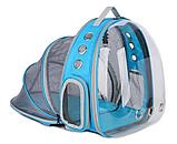 Рюкзак для перенесення тварин прозорий, фото 4