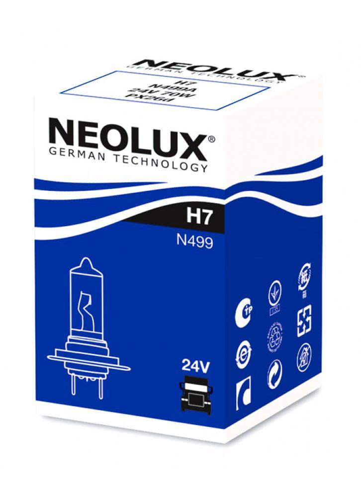 Лампа галогенна NEOLUX STANDART H7 24V 70W 3200К