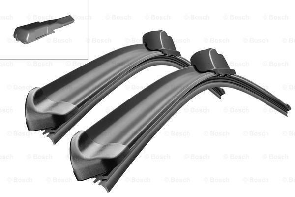 Щетки стеклоочистителя бескаркасные BOSCH Aerotwin, 600х400мм, VW Polo 09-. Rapid 12-.