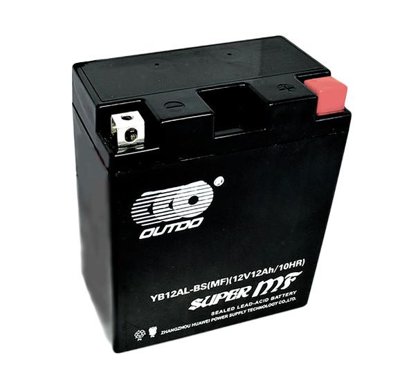 Мото акумулятор OUTDO 11Ah YB10L-BS MF(FA)