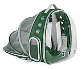 Рюкзак для перенесення тварин прозорий, фото 3