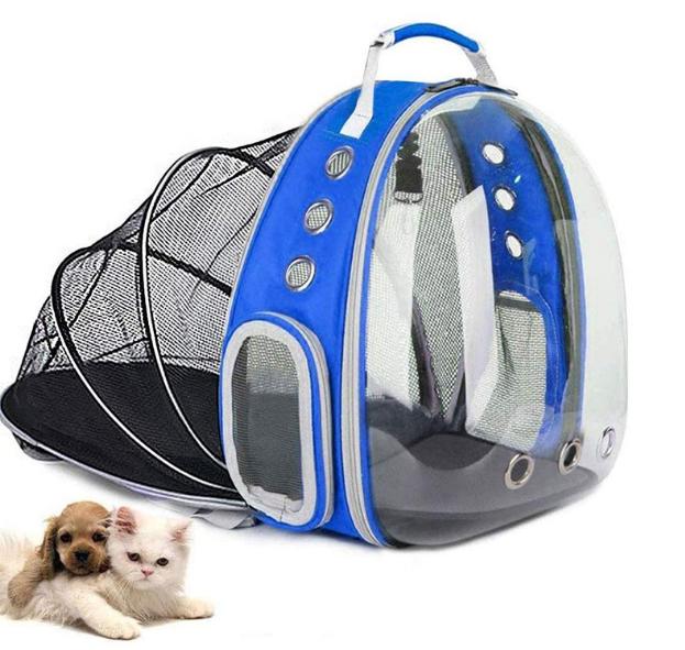Рюкзак для перенесення тварин прозорий