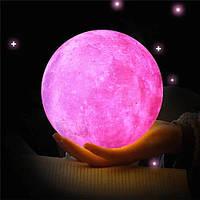 Настольный светильник kуна 3D Moon Lamp