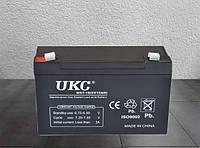 Аккумулятор для пикников UKC 6V 10Ah WST-10 переносной, универсальный