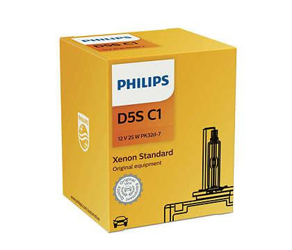 Лампа Ксенонова PHILIPS Xenon Standard D5S 25W 12V (12410C1)
