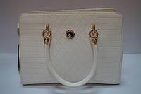 Стильная женская белая сумка