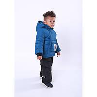 Зимний теплый комбинезон для мальчика Майкл размер 92-98 от 2 до 4 лет