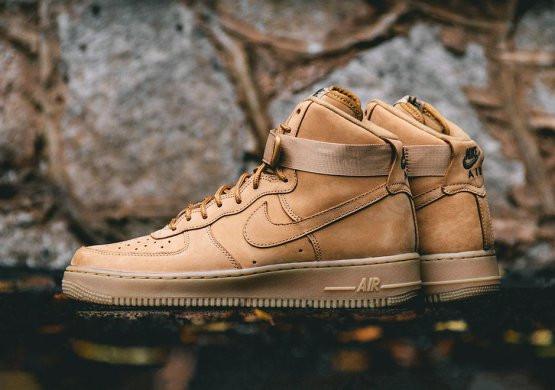 Мужские Кроссовки Nike Air Force 1 Mid 'Wheat'