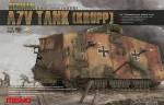 Немецкий танк A7V \ Krupp\   1\35    MENG