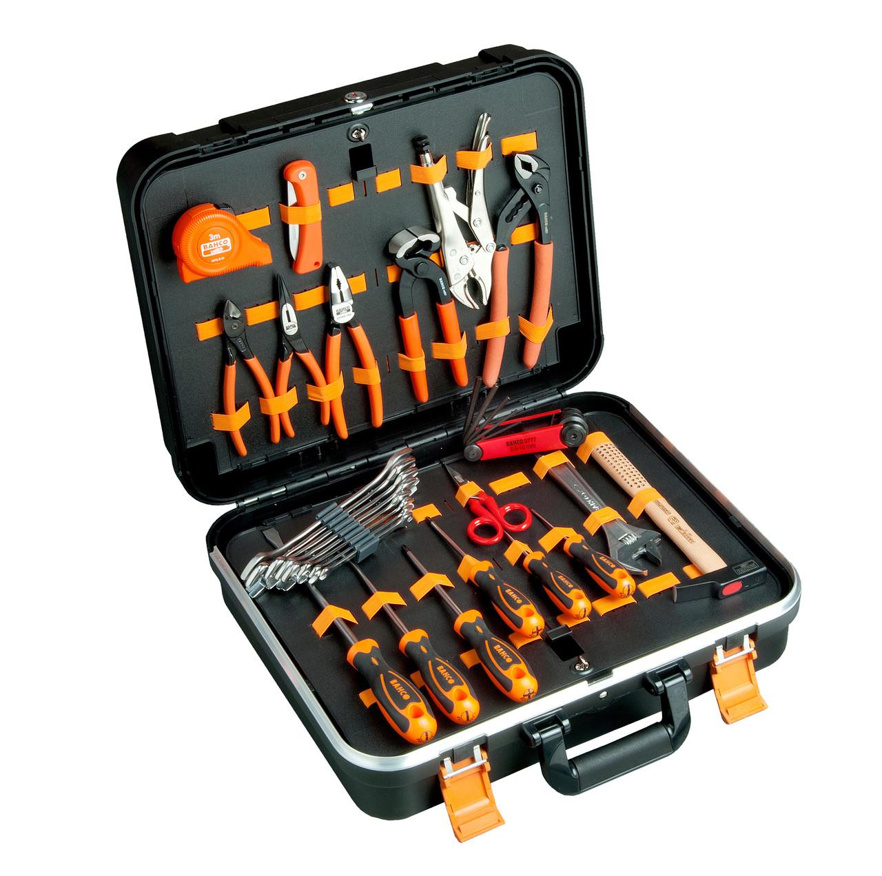 Наборы инструментов в кейсе 32ед , Bahco, 983000320