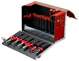 Наборы инструментов с контейнером, 19 Pieces insulated tool set within a leather bag, Bahco, 3045V-2