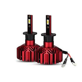Автомобільні світлодіодні лампи для фар NightEye A500-N11-H3 з вентилятором