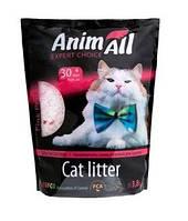 Наполнитель силикагелевый для кошачьего туалета Animall Pink Petal (Энимал Пинк Пэтл) РОЗОВЫЙ ЛЕПЕСТОК 3,8 л