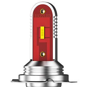 Автомобільні світлодіодні лампи для автомобіля DXZ CSP-1860 H7 потужність 30W
