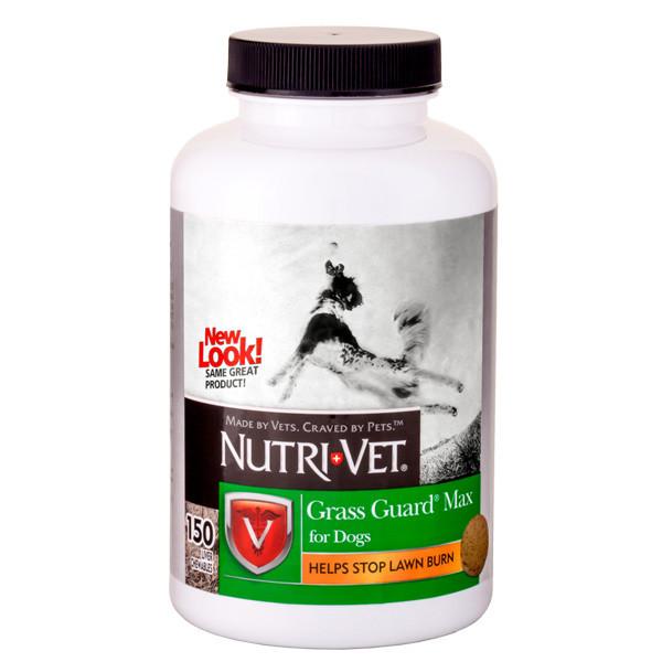 Вітамінна добавка Nutri-Vet Grass Guard для собак, нормалізація PH сечі, 150 піг