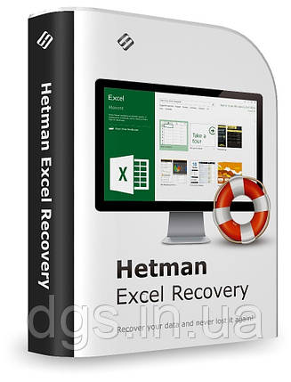 Програма Відновлення Даних Гетьман Hetman Excel Recovery Домашня Версія, фото 2