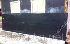 Пленка черная строительная в рулонах для строительства и ремонта, 3 м ширина, 100 мкм толщина, фото 3