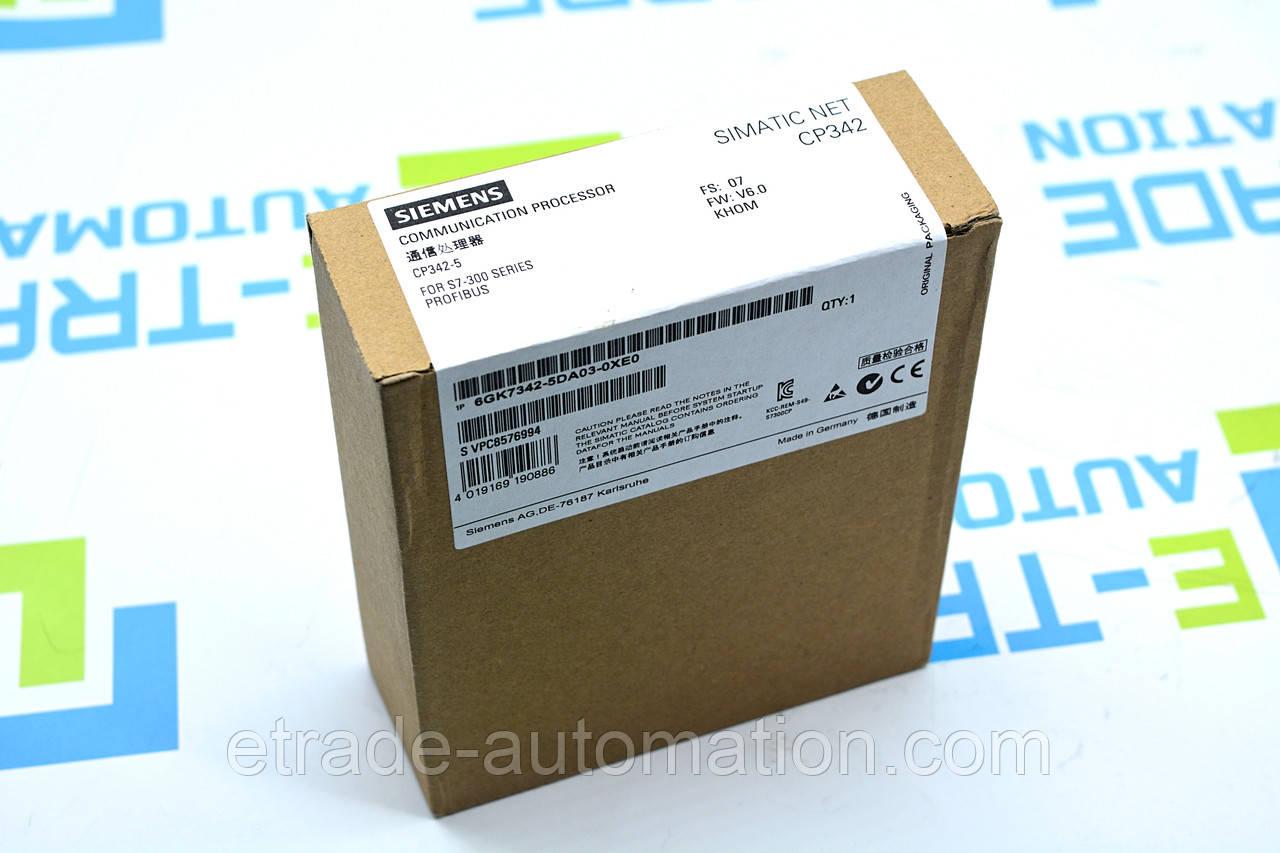 Процессор Siemens 6GK7342-5DA03-0XE0
