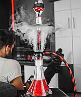 Кальян Make Hookah - Red-Black (Червоний), без колби