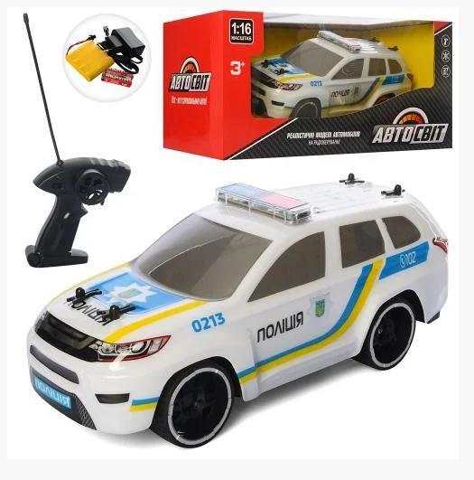 Машина на радиоуправлении Полиция АвтоСвіт