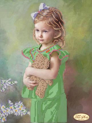"""Рисунок на ткани для вышивания бисером """"Плюшевый друг"""", фото 2"""