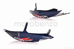 Пластик скутер FADA  QT14  боковины пара, синий