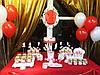 Кенди бар (Candy bar) бело-красный, фото 2