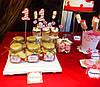 Кенди бар (Candy bar) бело-красный, фото 3