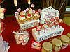 Кенди бар (Candy bar) бело-красный, фото 4