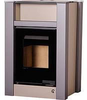 Печь-камин Aquaflam Vario Lend кремовый металик