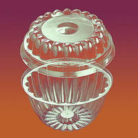 Соусница одноразовая креманка 295 мл , 4409