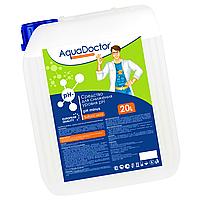 Препарат для понижения уровня ph Aquadoctor pH-минус HL 20 л жидкий (соляная 14%), фото 1