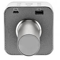 Беспроводной микрофон караоке Q7 Серебрянный, фото 4