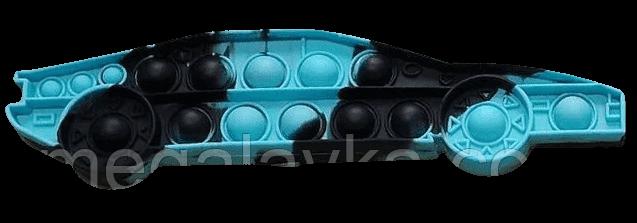 Сенсорна іграшка Pop it машина антистрес пупырка Поп Іт 24х6 см