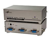 Разветвитель (сплиттер) VGA 1х2, МТ-2502