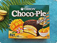 Шоколадные Пирожные Чоко-пай с Манго Choco-Pie ORION 360 g 12 шт