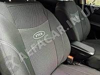 Чохли на сидіння GAZ 3110 / 31105 з/спинка 1/2 1/2; сидіння цілісне; задній підлокітник; 4 підголовника.