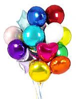 Новая идея в оформлении - фольгированные шары!