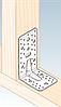 Перфорированный крепеж - уголки усиленные