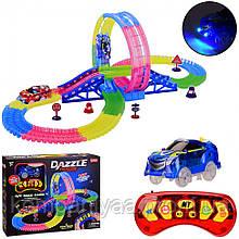 Детский игрушечный автотрек со световыми эффектами 132T